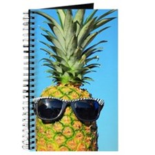 Pineapple with sunglasses Journal
