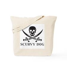Scurvy Dog Tote Bag