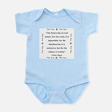 The Future Has Several Names - Hugo Infant Bodysui