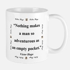 Nothing Makes A Man So Adventurous - Hugo Mug