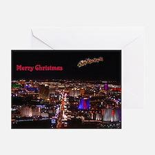 Las Vegas Santa & Reindeers Cards 10