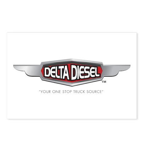 Delta Diesel Postcards (Package of 8)