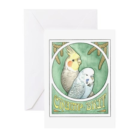 Chump & Brit Note Cards (Pk of 10)