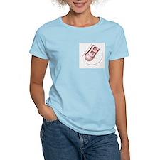 Pull-Tab Women's Light Pink T-Shirt