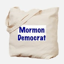 Mormon Democrat Tote Bag
