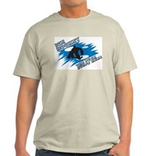 Puck Stops Here Ash Grey T-Shirt