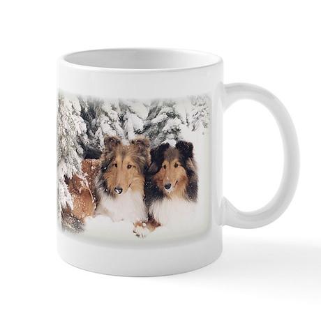 Snow Shelties Mug