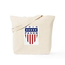 Join Greg Pason Tote Bag