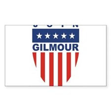 Join Frank Gilmour Rectangle Decal