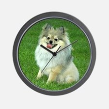 Pomeranian Dog Days - Wall Clock