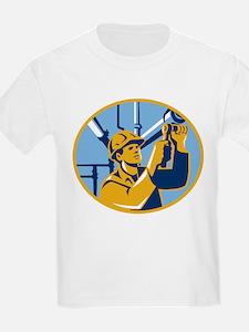 Pipefitter Maintenance Gas Worker Plumber T-Shirt