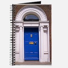 Blue Dublin Door Journal