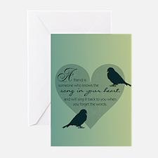 Bird Friends Greeting Cards (Pk of 20)