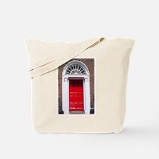 Red Dublin Door Tote Bag