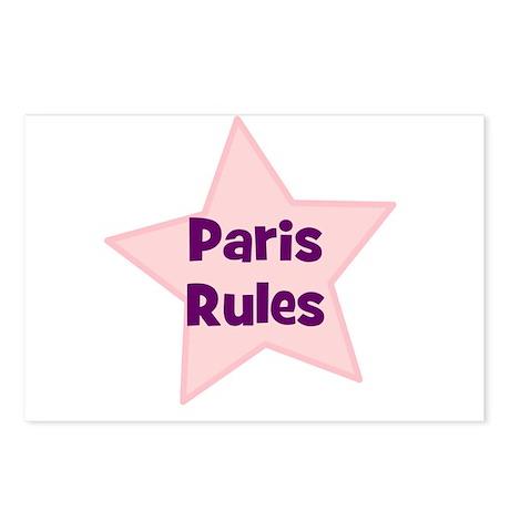 Paris Rules Postcards (Package of 8)