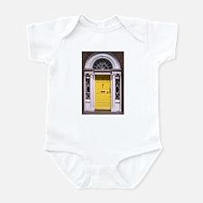 Yellow Dublin Door Infant Bodysuit