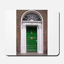 Green Dublin Door Mousepad