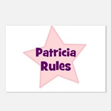 Patricia Rules Postcards (Package of 8)