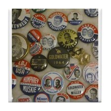 Vote 4 Me Tile Coaster