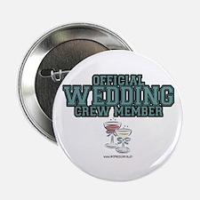 Official Wedding Crew Button