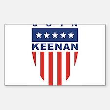 Join Bob Keenan Rectangle Decal