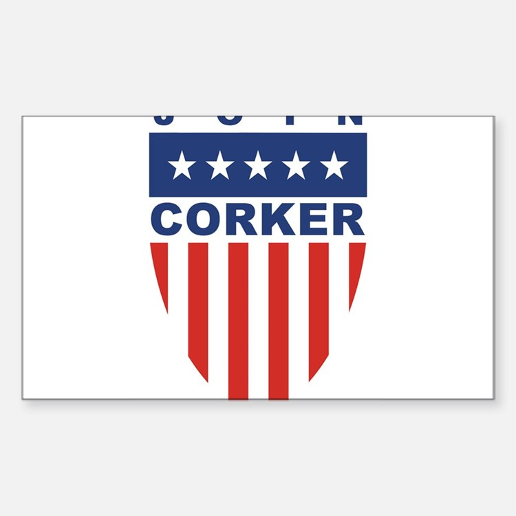 Join Bob Corker Rectangle Decal