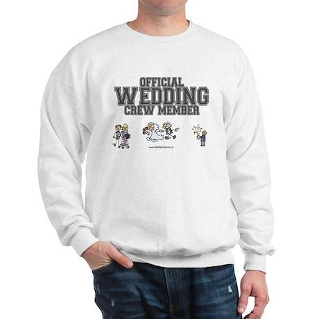 Official Wedding Crew Sweatshirt