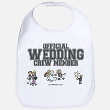Official Wedding Crew Bib