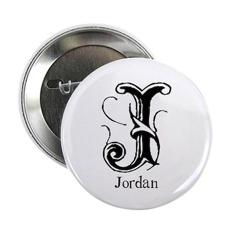 Jordan: Fancy Monogram Button