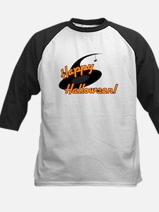 Happy Halloween Witch Hat Spi Kids Baseball Jersey