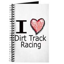 I Heart Dirt Track Racing Journal