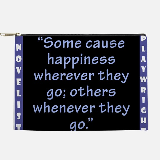 Some Cause Happiness - Wilde Makeup Pouch