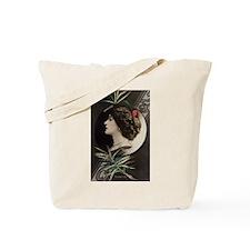 Victorian Actress Deco Postcard Tote Bag