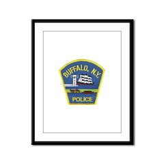 Buffalo Police Framed Panel Print