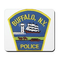Buffalo Police Mousepad