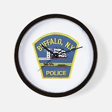 Buffalo Police Wall Clock