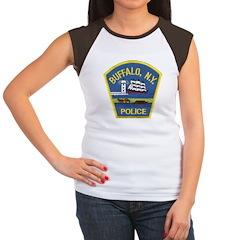 Buffalo Police Women's Cap Sleeve T-Shirt