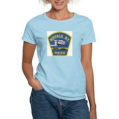Buffalo Police Women's Pink T-Shirt