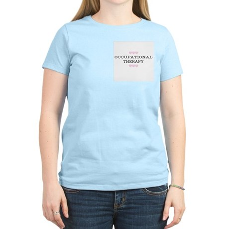 OT Hearts Women's Pink T-Shirt