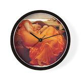 Flaming june Wall Clocks