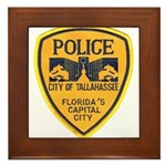 Tallahassee Police Framed Tile