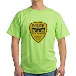 Tallahassee Police Green T-Shirt