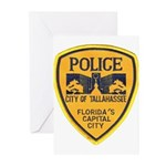 Tallahassee Police Greeting Cards (Pk of 10)