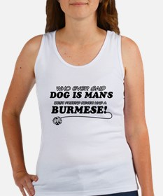 Burmese Cat designs Women's Tank Top
