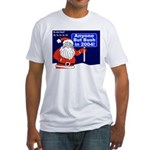 Santa Ho Ho to Bush T-shirt (Made in the