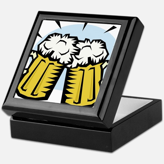 BEER MUGS Keepsake Box
