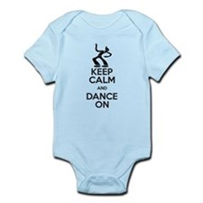 KEEP CALM AND DANCE ON Body Suit