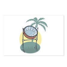 Steel Drum and Palm Tree Postcards (Package of 8)