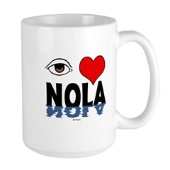 Eye Love NOLA (brown) Mug
