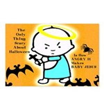 Scary Halloween Postcards (Package of 8)
